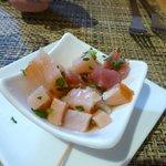 Marinated fish