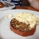 "scrambled egg on ""muffin""?"