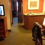 Nice having a suite!!