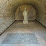 In het archeologisch museum bereikbaar vanuit de kathedraal