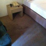 la moquette della stanza