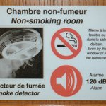 Fumeurs s'abstenir !