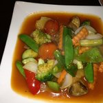 Vegetables in Sweet & Sour Sauce