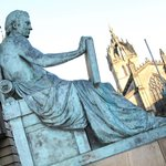 You'll hear all about the characters of Edinburgh on our walking tours, like David Hume.