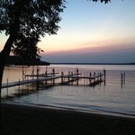 Our view at Grandview..beautiful Gull Lake