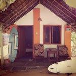 Cabana at mid bay.