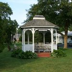 Gazebo on the Grounds of Country Acres Motel
