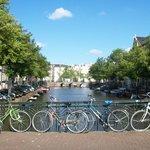Amsterdam é uma cidade para ser fotografada...linda !!!