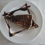 Deliciosas tarta de chocolate con galletas Casera
