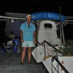 Ricardo at the entrance