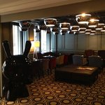 The lobby/bar area
