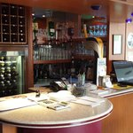 A variety of wines, champagne, liquors and whiskeys