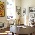 Paintings and photographs at Strazza Gallery in Warwick, NY