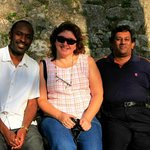 Stephen from Uganda & Patricia from Argentina who were in adjoining rooms