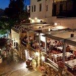 Typografio Restaurant, Naxos City, Naxos Island, Greece