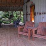 terrasse spacieuse du cabanon #2