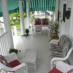Breezy porch for everyone to enjoy