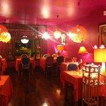 Foto eclectisch ingericht restaurant