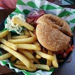 Супер острый бургер