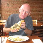 philly cheesesteak at rotten raulph's