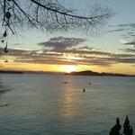 Sunset second night, Jones Island State Park