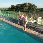 piscine à même le toît