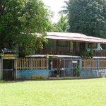 Voorkant van het hostel