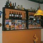 Casa Vecchia's bar detail
