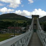 Melrose chain bridge - worth a visit