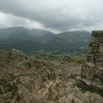 Top of Loughrigg Fell