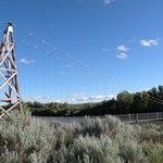 il ponte sospeso di Rosedale