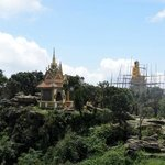 un temple au somment