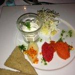 Tasting of norwegian caviars