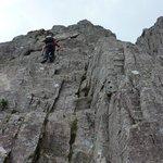 Scrambling on Curved Ridge