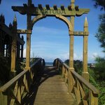 the tortuga beach entrance