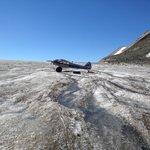 Super Cub on the glacier