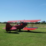 BiPlane on the Katama Airfield | The Right Fork Diner