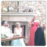 Maid of honor speech at our reception dinner
