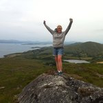 Great hike overlooking Bantry Bay