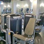 The gym...