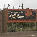The Dalton Highway was built to build the pipeline.