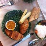 Breakfast selection
