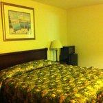 The Islander Motel King Bed Room