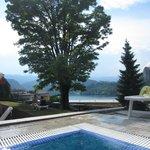 Utsikt från poolområdet