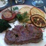 Filet de bœuf sauce poivre noir