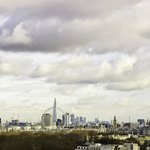 View of London Skyline from one of the Penthouse Suites