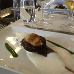 Tasty - fois gras and blood sausage