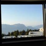 Vista delle Dolomiti dalla stanza, sicuramente un bel risveglio...