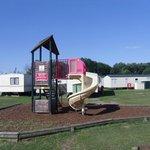 play area at Felixstowe Beach