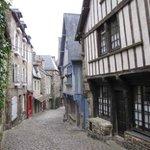 Dinan - La rue du Jerzual